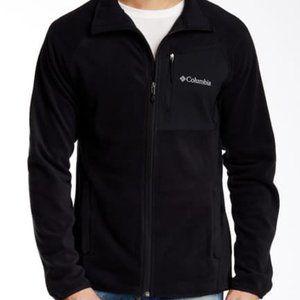 New COLUMBIA Hat Rock Full Zip Fleece Jacket XXL